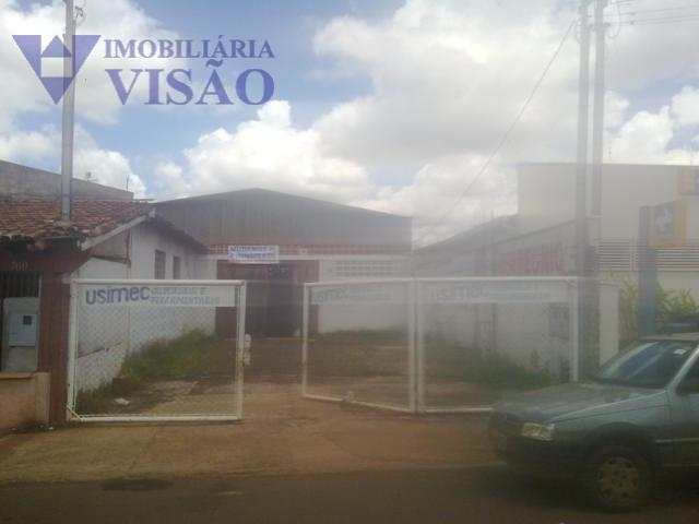 Galpão Residencial para locação, Jardim Induberaba, Uberaba - GA0065.