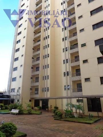 Apartamento Residencial para locação, São Benedito, Uberaba - AP1103.