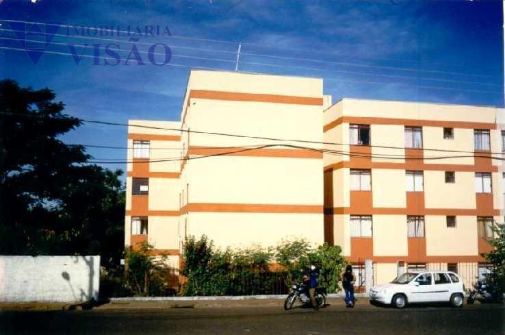 Apartamento Residencial para locação, Conjunto Frei Eugênio, Uberaba - AP0029.
