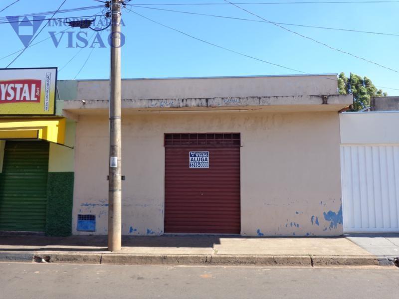 Ponto Comercial para locação, Boa Vista, Uberaba - PT0256.