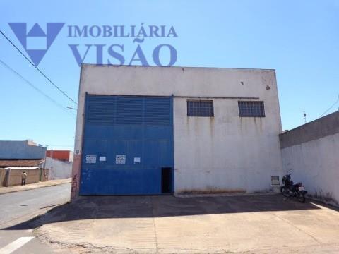 Galpão Comercial para locação, Recreio dos Bandeirantes, Uberaba - GA0075.