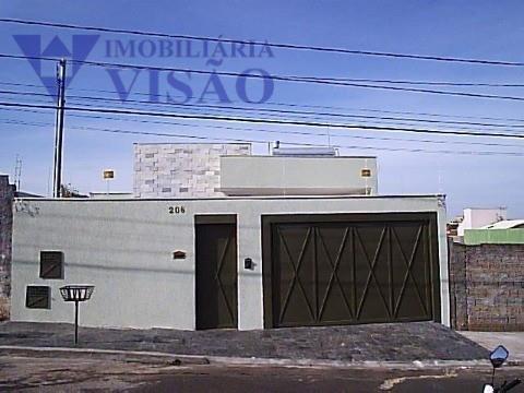 Casa Residencial à venda, Quinta Boa Esperança, Uberaba - CA2049.
