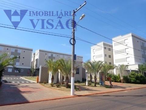 Apartamento Residencial para locação, Conjunto Pontal, Uberaba - AP1206.