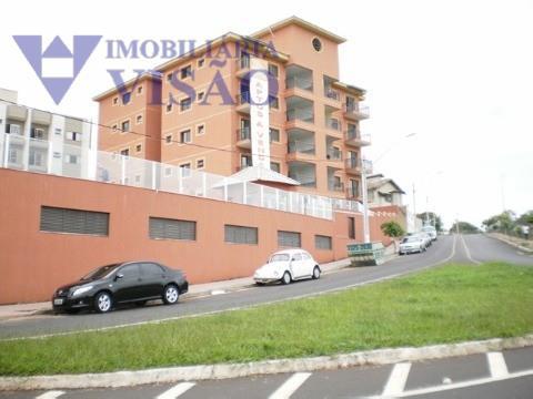 Apartamento residencial à venda, Parque do Mirante, Uberaba - AP1021.