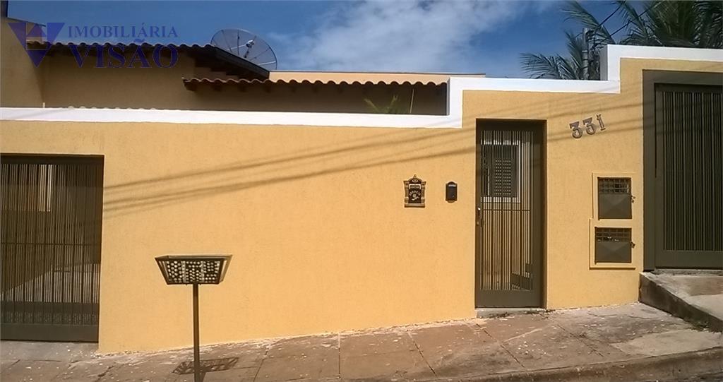 Casa residencial à venda, Vila Frei Eugênio, Uberaba - CA1916.