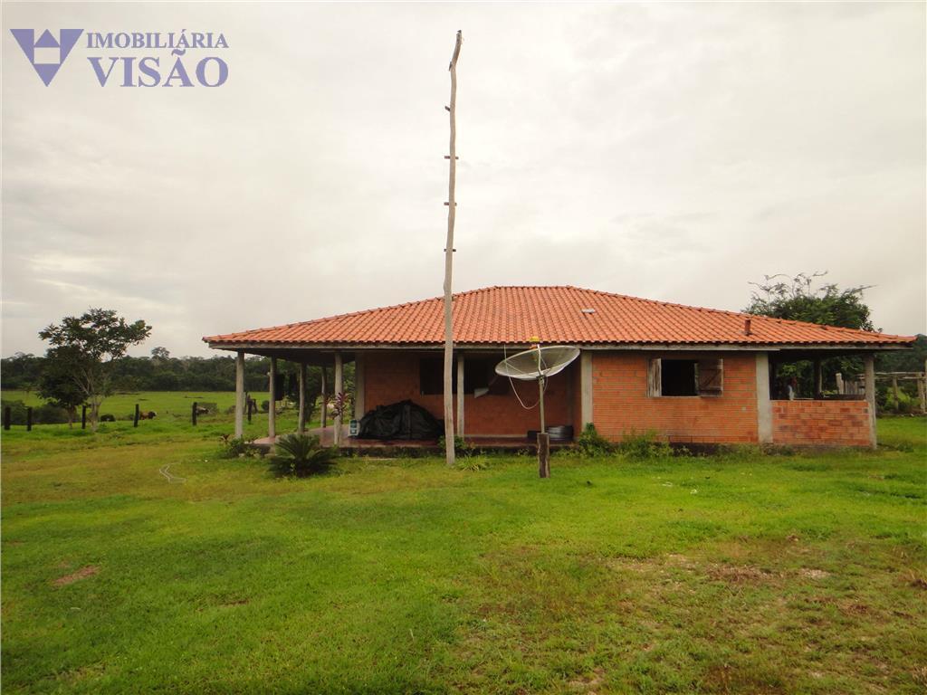 Fazenda  rural à venda, Zona Rural, Pimenta Bueno.