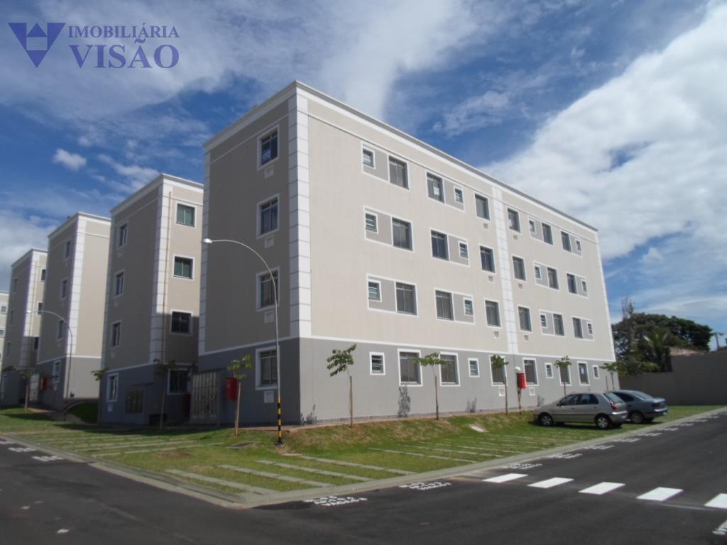 Apartamento residencial para locação, Conjunto Guanabara, Uberaba.