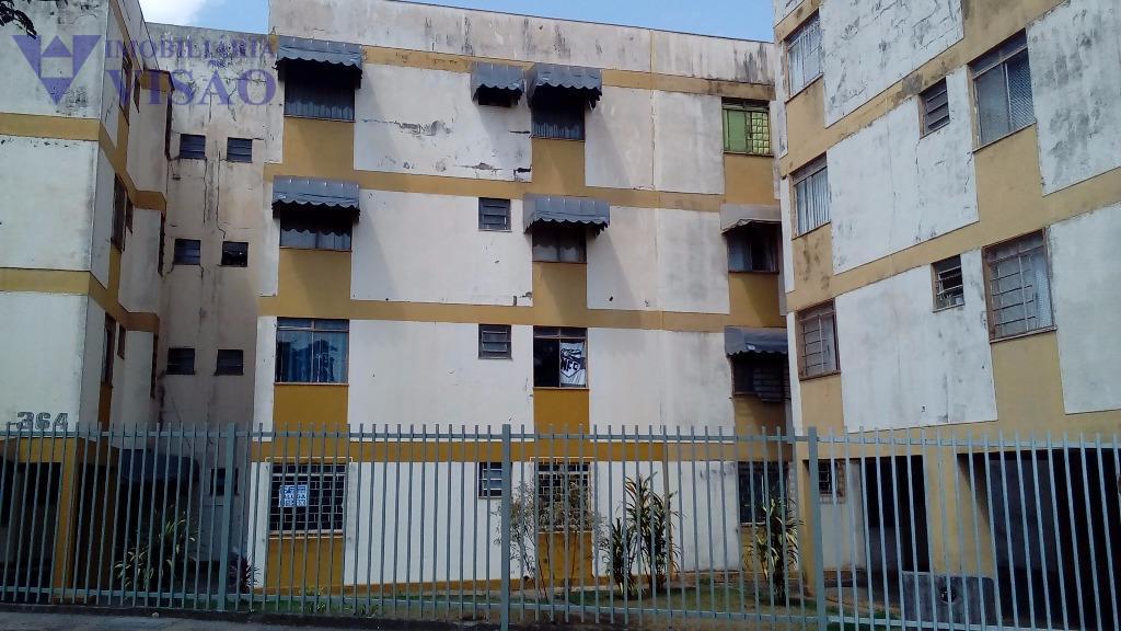 Apartamento Residencial para locação, Conjunto Frei Eugênio, Uberaba - AP0037.