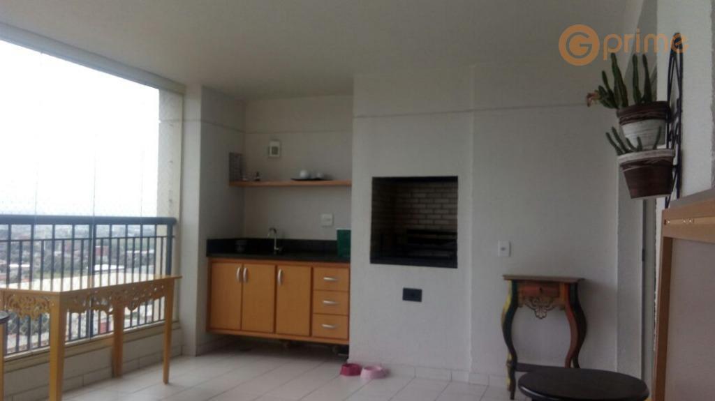 Apto Square - 134 m² - Andar Alto e Vista Livre - 2 vagas e depósito – Aceita Permuta
