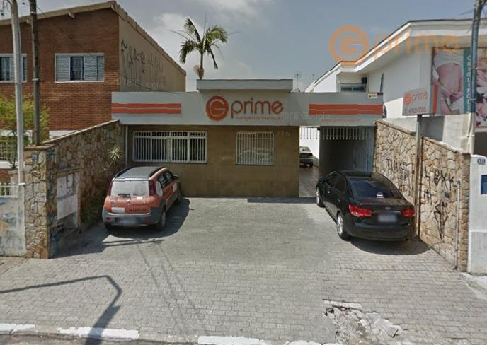 casa comercial com 216 m², sendo 5 salas, 1 recepção, 2 banheiros e 1 cozinha. na...