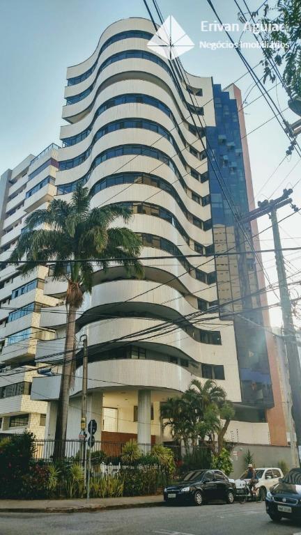 Apartamento com 4 dormitórios à venda, 196 m² por R$ 650.000 - Aldeota - Fortaleza/CE