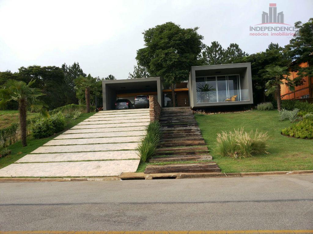 Casa Condomínio Fechado  residencial à venda, Recanto Santa Barbara, Jambeiro.