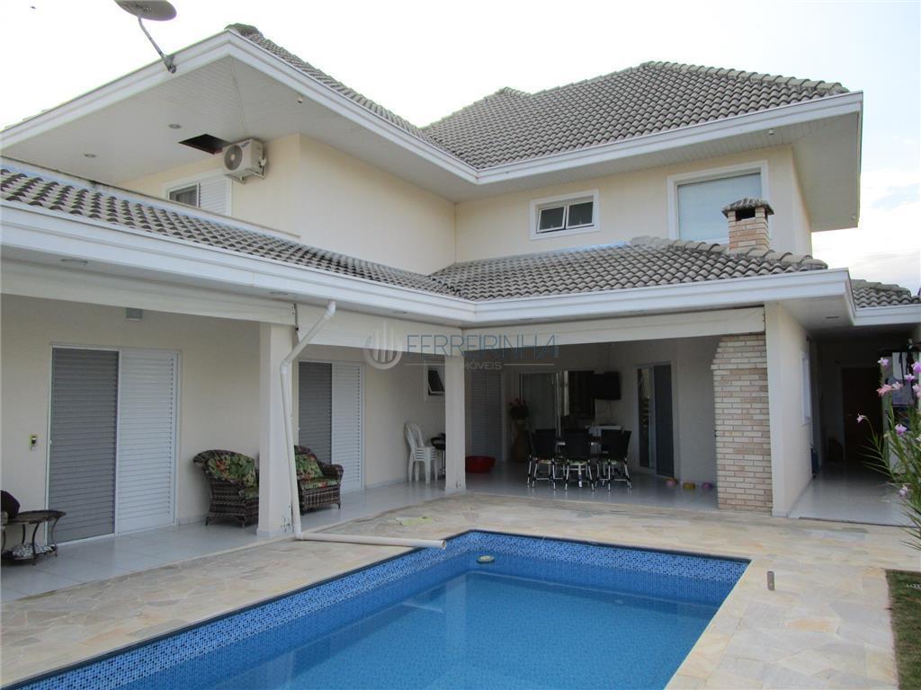 Casa residencial à venda, Condomínio Residencial Jaguary, São José dos Campos - CA0693.