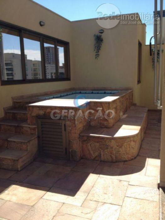 Cobertura residencial à venda, Parque Residencial Aquarius, São José dos Campos - CO0071.