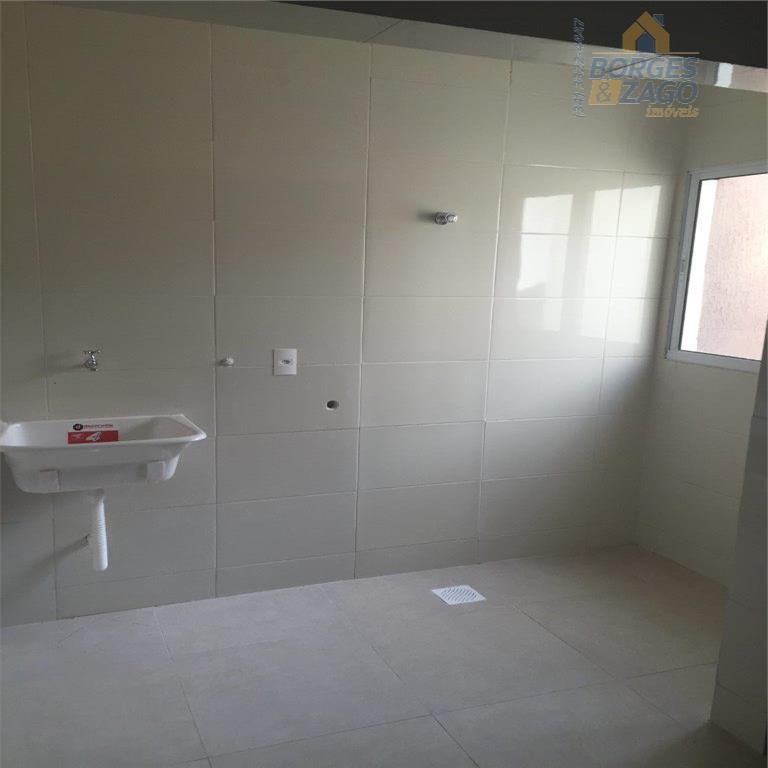apartamento novo com 2 dormitórios, wc social, sala, cozinha, área de serviço, elevador e 1 vaga...