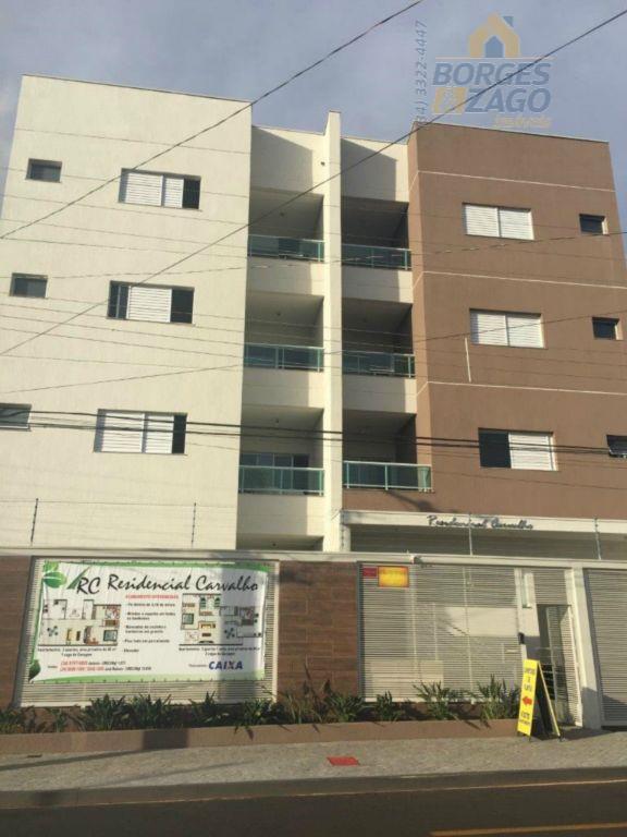 Apartamento residencial à venda, Nossa Senhora da Abadia, Uberaba - AP0169.