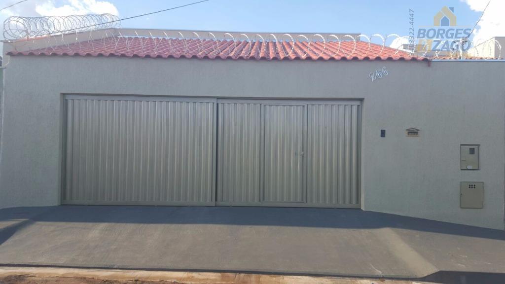 Casa residencial à venda, Residencial Morumbi, Uberaba.