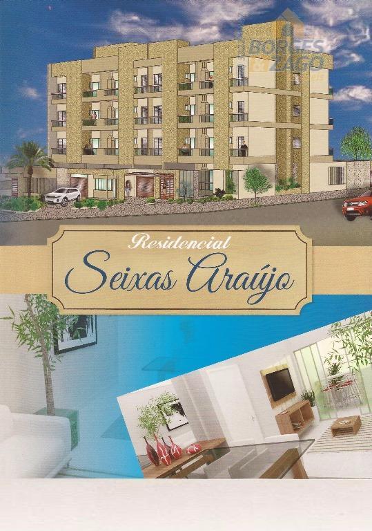 Apartamento residencial à venda, Quinta Boa Esperança, Uberaba.
