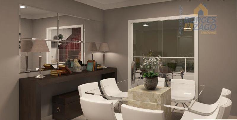 ótimo apartamento novo, de 03 quartos sendo 01 suíte, sala ampla para dois ambientes, lavabo, cozinha....