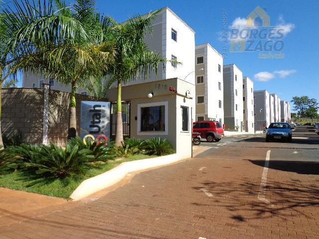 Apartamento residencial à venda, Conjunto Manoel Mendes, Uberaba.
