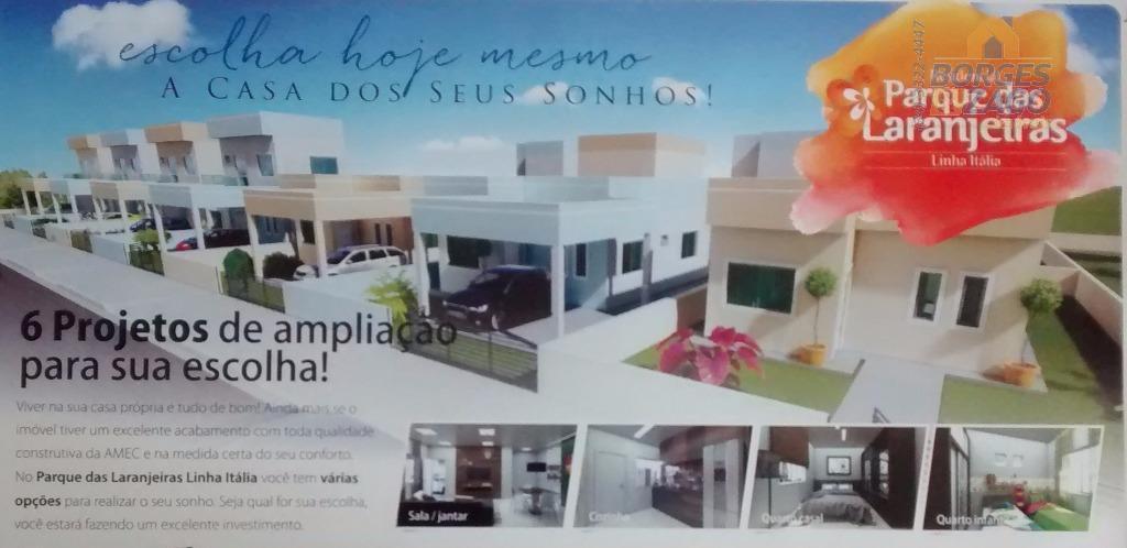 casas à partir de r$180,000,00. 02 dormitórios, banheiro social, sala dois ambientes copa/cozinha, , área de...