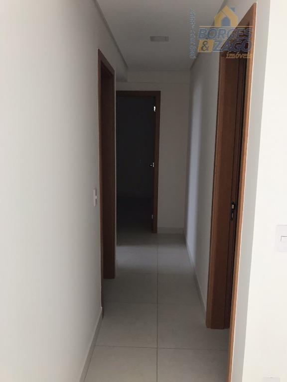 novo - 03 quartos sendo 01 suíte, sala 02 ambientes, lavabo, cozinha americana, lavanderia, 02 vagas...
