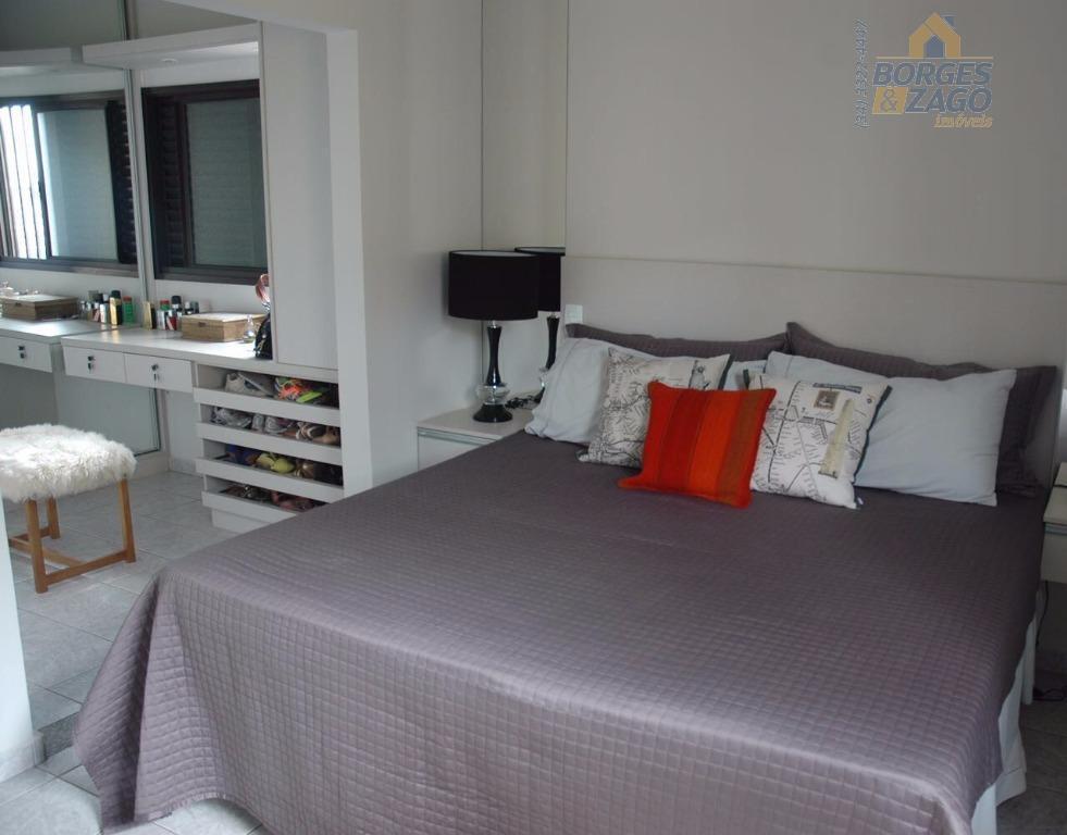03 quartos sendo 01 suíte com armários, sala com sacada, banheiro social, cozinha planejada, lavanderia e...