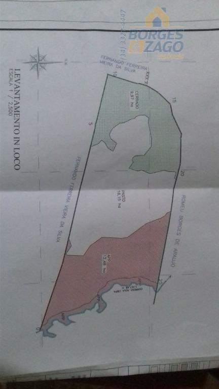 Fazenda rural à venda, Distrito Industrial II, Uberaba.
