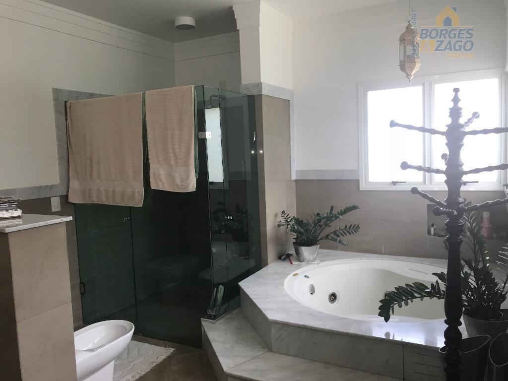 excelente casa. térreo: living, sala de jantar, sala de tv, sala de estar, lavabo, sacada, cozinha...