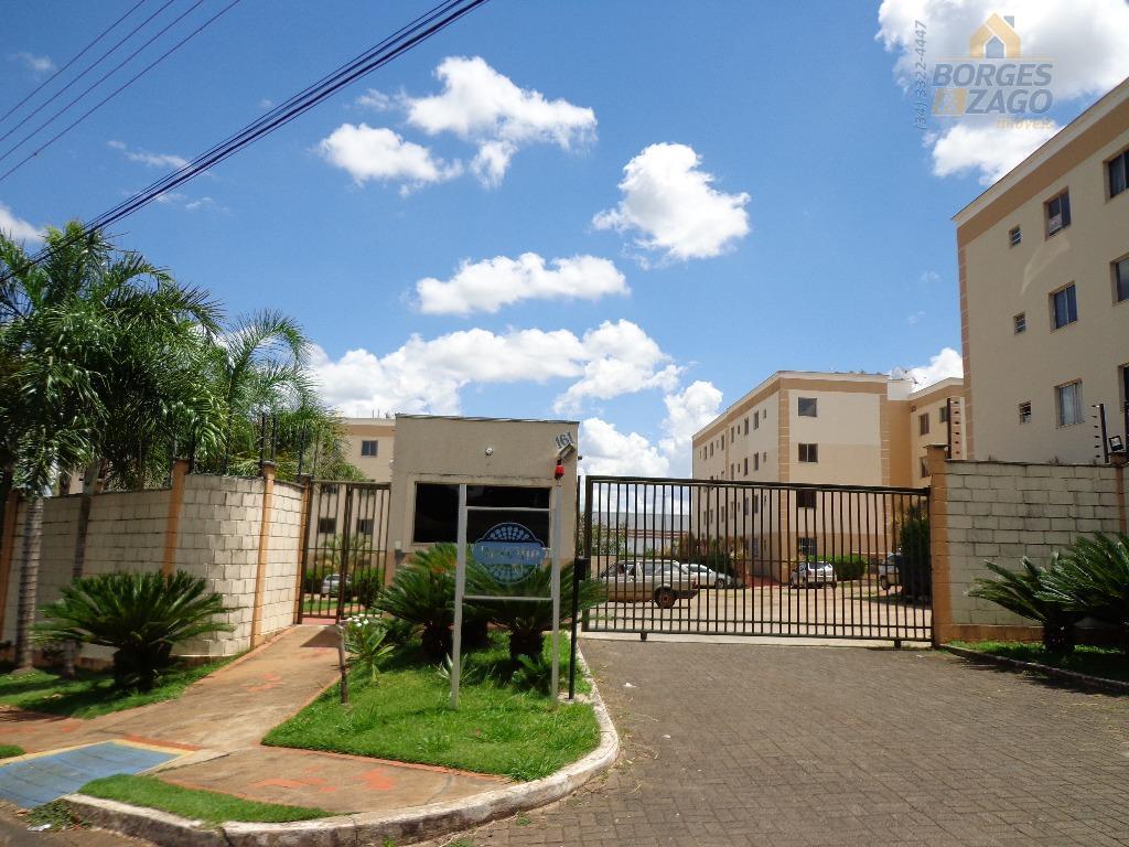 Apartamento residencial para locação, Parque Hiléia, Uberaba.