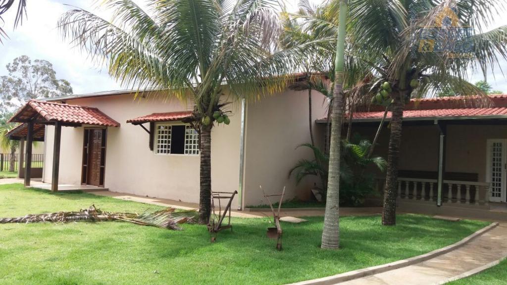 Rancho residencial à venda, Distrito Industrial III, Uberaba.