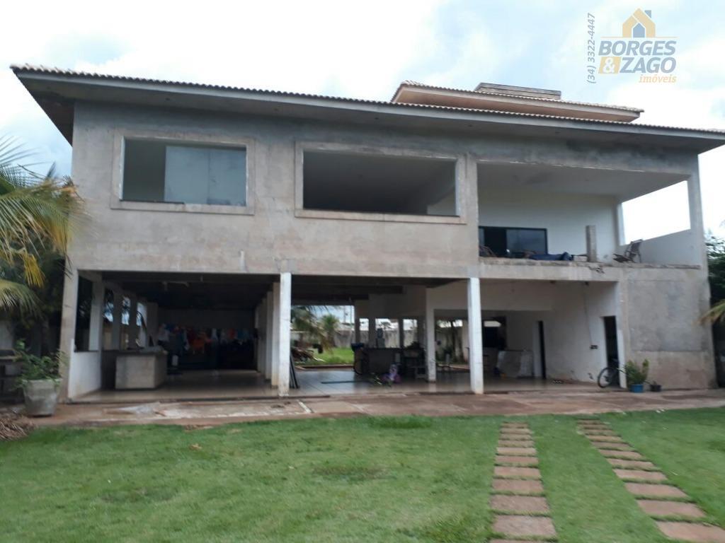 Casa residencial à venda, Residencial Mário de Almeida Franco, Uberaba.