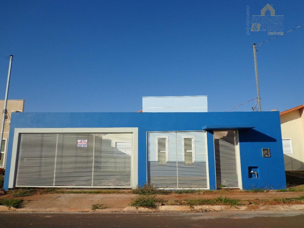 Casa residencial para locação, Vila Arquelau, Uberaba.