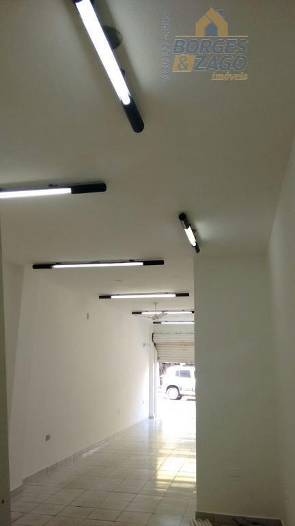 loja comercial em ótima localização, 59 m², com balcão, cozinha e banheiro. cód ub: 69060