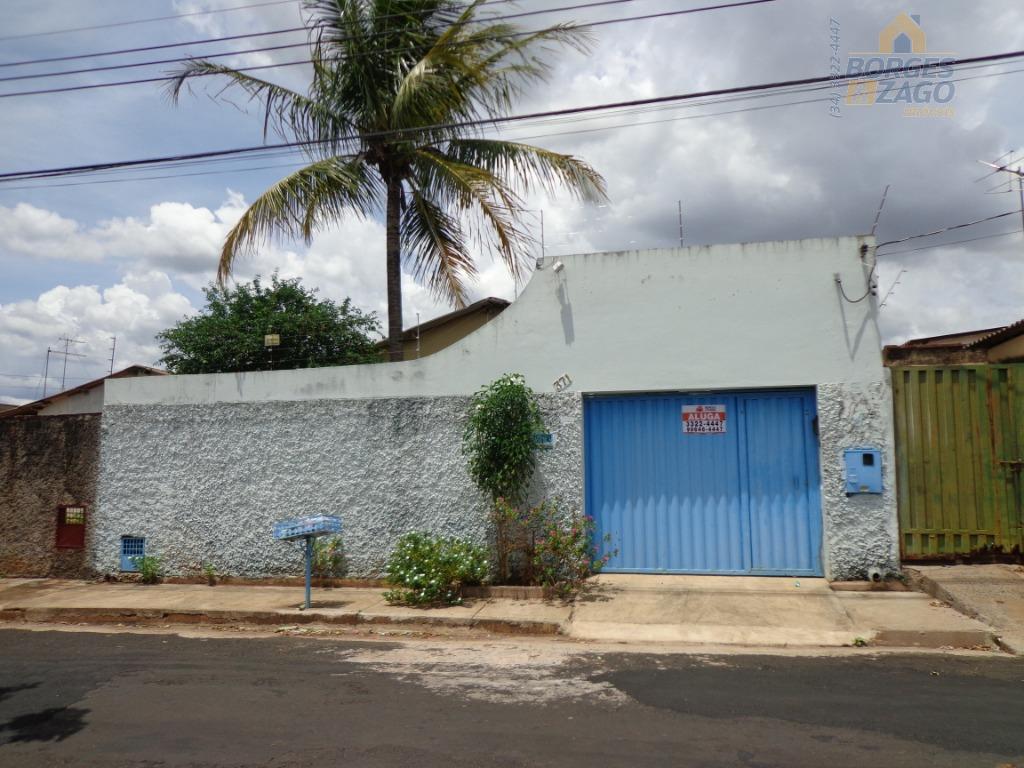 Casa Residencial  Locação - Conjunto Alfredo Freire - Uberaba/MG