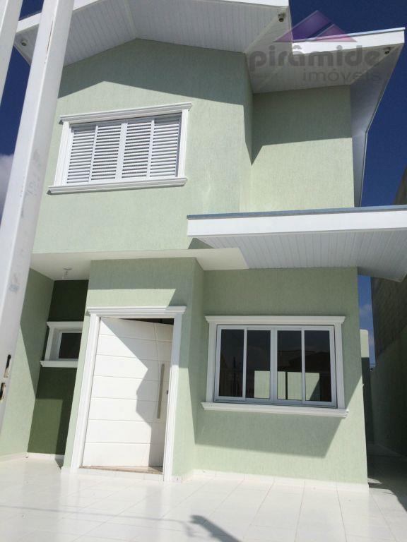 Sobrado residencial à venda, Loteamento Villa Branca, Jacareí.