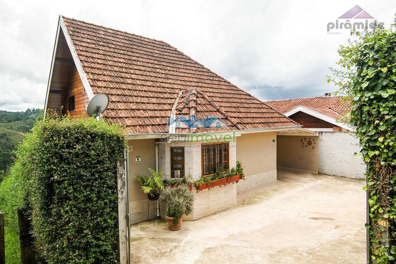 Casa residencial à venda, Vila Nova, Campos do Jordão.