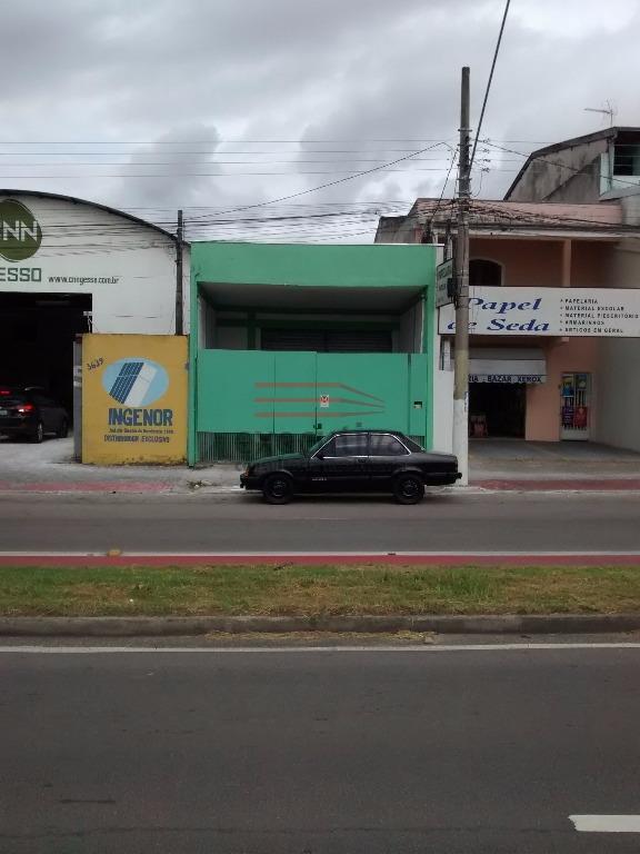 Galpão  comercial para locação, Cidade Morumbi, São José dos Campos.
