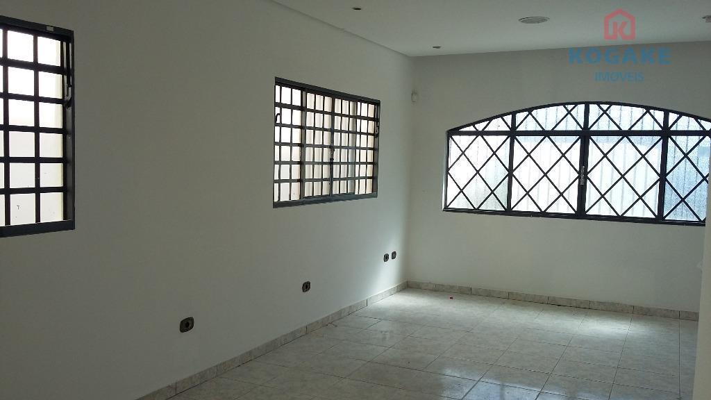 Casa comercial para locação, Vila Rubi, São José dos Campos - CA2190.