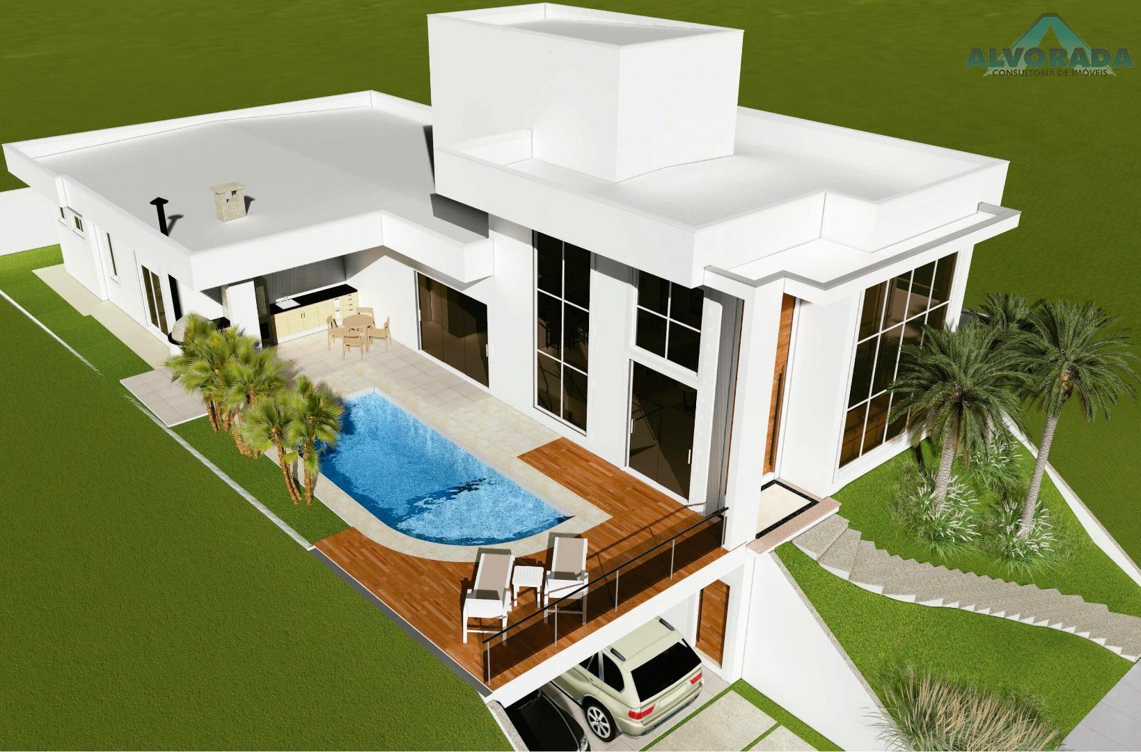 Casa residencial à venda, Condomínio Residencial Jaguary, São José dos Campos.