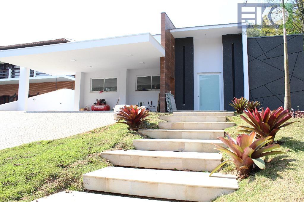 Casa com 4 dormitórios à venda, 430 m² por R$ 3.500.000 - Arujázinho I, II e III - Arujá/SP