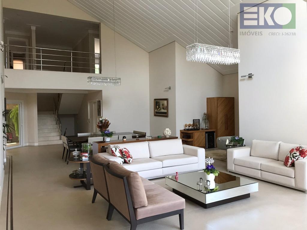 belíssima residência!altíssimo padrão!capa de revista!totalmente mobiliada!casa residencial à venda, condomínio arujazinho i, ii e iii, arujá.casa...
