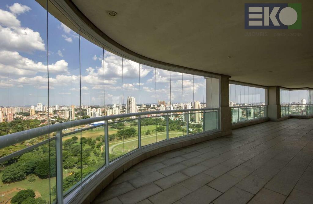 Apartamento com 4 dormitórios à venda, 355 m² por R$ 3.290.000 - Jardim Anália Franco - São Paulo/SP