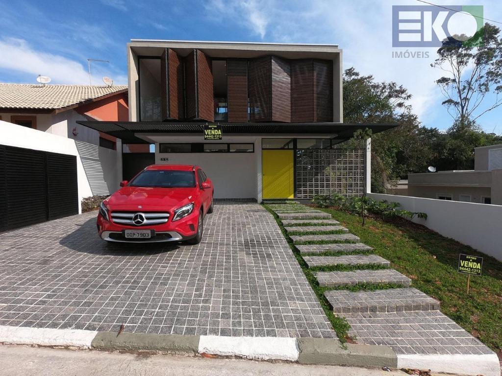 Casa com 3 dormitórios à venda, 270 m² por R$ 1.900.000 - Condomínio Arujazinho IV - Arujá/SP