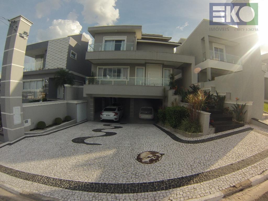 Casa com 3 dormitórios à venda, 355 m² por R$ 1.800.000 - Condomínio Real Park - Arujá/SP