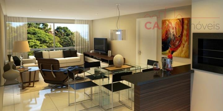 NOVO, PRONTO - Apartamento de 3 dormitórios com 1 vaga no bairro Chácara das Pedras