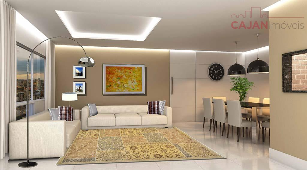 Apartamento de 2 dormitórios com 2 vagas de garagem no bairro Cristo Redentor