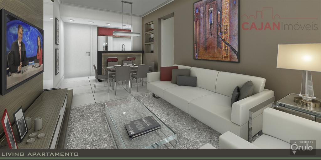 Edifício novo - Apartamento de 2 dormitórios com vaga no Menino Deus