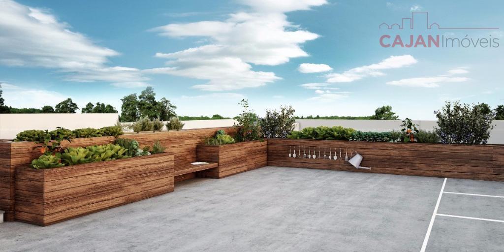 Em construção - Studio com vaga de garagem e infraestrutura completa no bairro Jardim Botânico