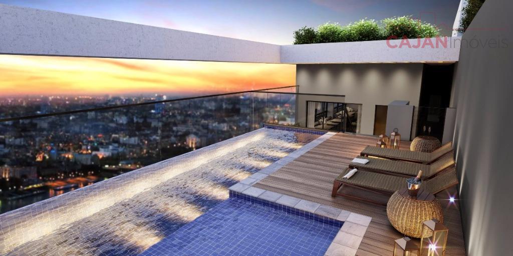 Em construção - Apartamento tipo Studio com vaga de garagem no bairro Jardim Botânico